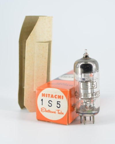 Hitachi 1S5 Miniature Diode Pentode Tube