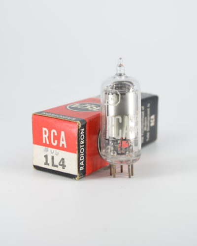 RCA 1L4 Sharp Cut-off RF Pentode Tube