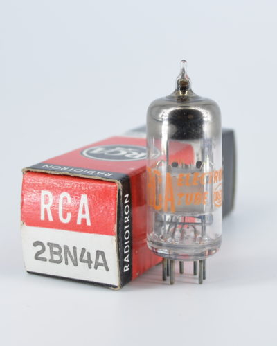 RCA 2BN4A Miniature Medium Mu Triode Tube