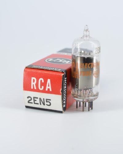 RCA 2EN5 Miniature Dual Diode Tube