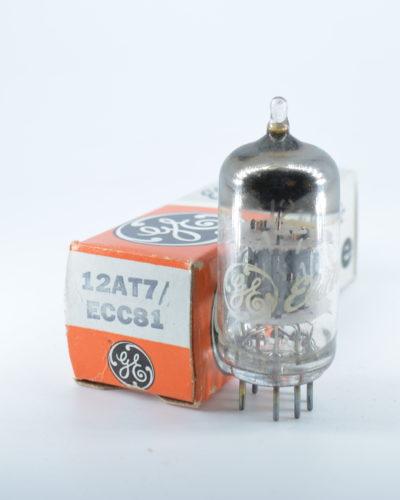 GE 12AT7 / ECC81 Preamp Tube