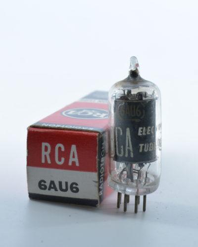 RCA 6AU6 tube